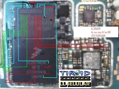 JALUR LCD GEMINI 8520