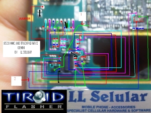 JALUR MMC + TRACKPAD GEMINI 8520