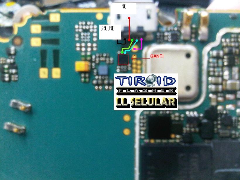 JALUR USB + CHG GEMINI 8520